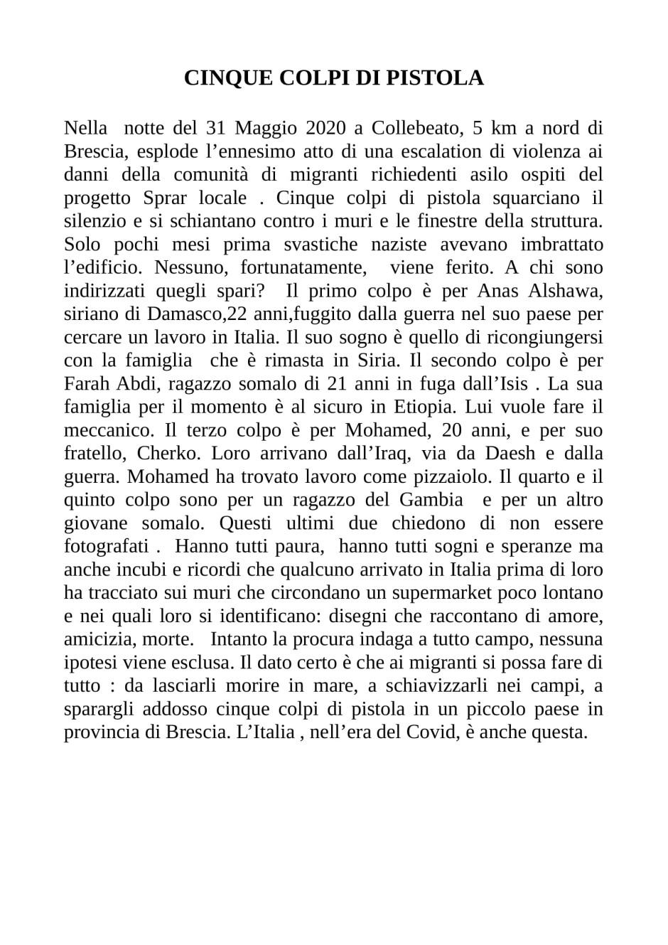 CLAUDIO RIZZINI-CINQUE COLPI DI PISTOLA-1