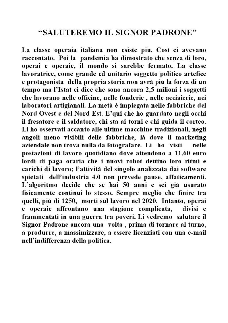 Claudio Rizzini-Saluteremo il Signor Padrone 2021 (1)