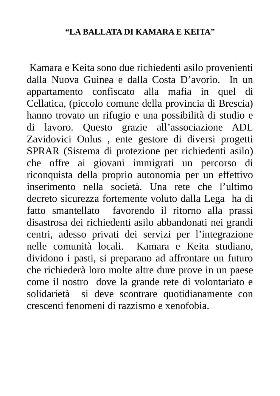 LA BALLATA DI KAMARA E KEITA-1